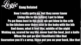 Logic - Gang Related Lyrics