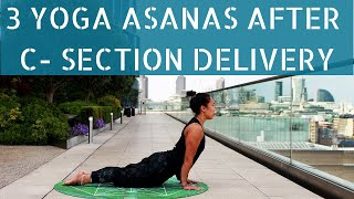Postnatal Yoga After C-Section | How to Lose Belly Fat After Pregnancy | New Mom Workout