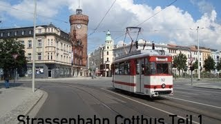 preview picture of video 'Strassenbahn Cottbus Teil 1'