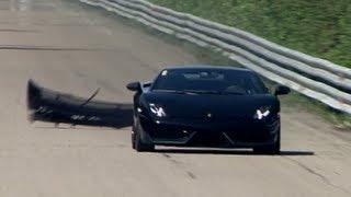 Lamborghini LP570 Twin Turbo (1500 HP) Total Race — Bad Day