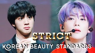 male idol visual ranking according to (strict) korean beauty standards