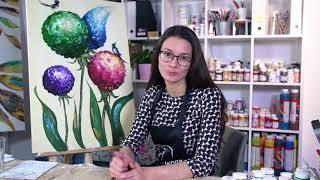"""Презентация онлайн-курса по авторским картинам """"В саду"""""""
