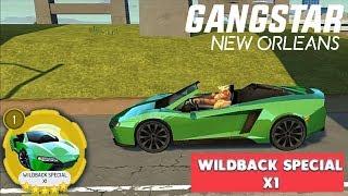 GANGSTAR NEW ORLEANS - WILDBACK SPECIAL X1 ( 5 STAR CAR )