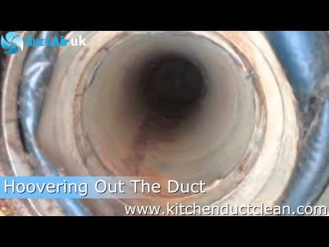 Kitchen Duct Cleaning Using Hasman Technology