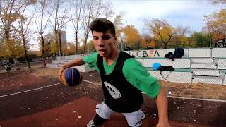 Баскетбол от первого лица 2 на 2 | BASKETBALL FIRST PERSON 2 on 2 | Full Game