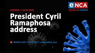 President Ramaphosa addresses nation on COVID-19