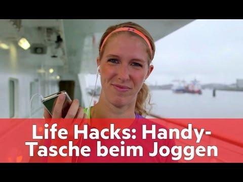 Life Hacks: Die günstigste Handy-Tasche fürs Laufen