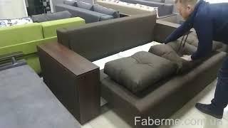 Еврокнижка диван Бостон от компании Фаберме - видео 3