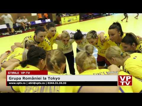 Grupa României la Tokyo