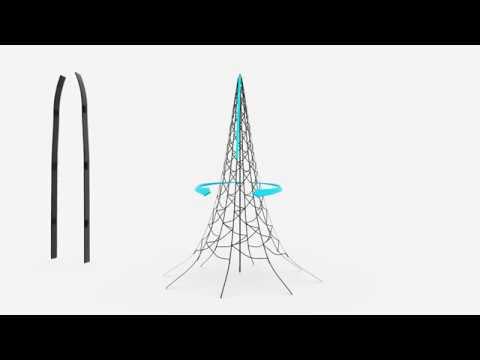 Fairybell LED-Weihnachtsbaum außen mit 360 LEDS