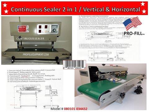 CONTINUOUS SEALR FR 800 GENERIC Continuous Sealer Vertical 900