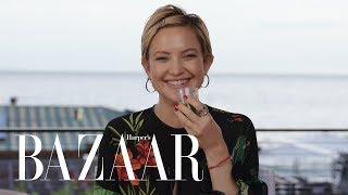 Kate Hudson Spills All In Never Have I Ever | Harpers BAZAAR