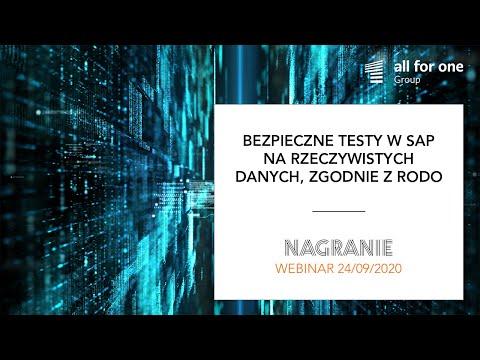 Bezpieczne testy w SAP na rzeczywistych danych, zgodnie z RODO