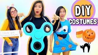 DIY Halloween Costumes (Fidget Spinner, Cookie Monster, Arthur Meme)   JENerationDIY