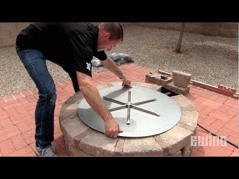 Como Construir una Fogata de Gas para Patios