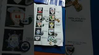 Colección pins Athletic club.  Gorri-zuria Madrid