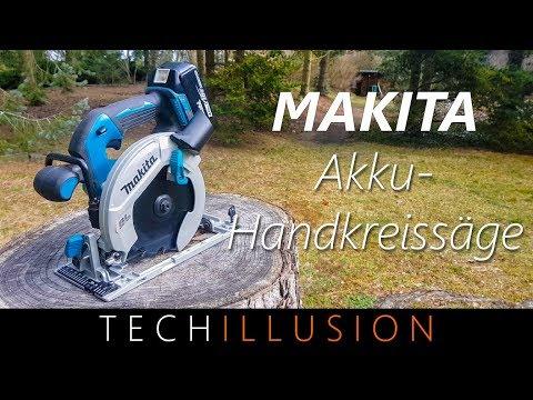 🛠PROFI AKKU HANDKREISSÄGE von MAKITA! - DHS680 - Review