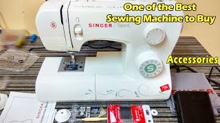 Singer Talent 3321 Sewing Machine for Beginners | Accessories | Unboxing & First Look