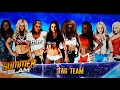 Charlotte, Naomi, Nikki Bella & Brie Bella vs Nancy Wayne, Rose Dawn, Sa...