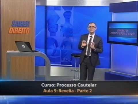 Direito Processual Civil – Processo Cautelar (aula 5)