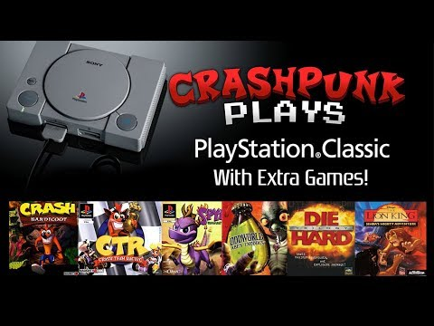 Playstation classic hack , testing  pbp japanese Games on