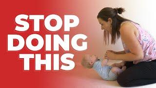 Stop Pulling Babies into Sitting: Do these 4 Baby Activities Instead! Newborn Activities