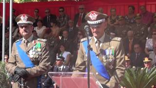 preview picture of video 'CAMBIO BRIGATA SASSARI - COMMIATO 40° COMANDANTE GEN. PORTOLANO - LIVE'