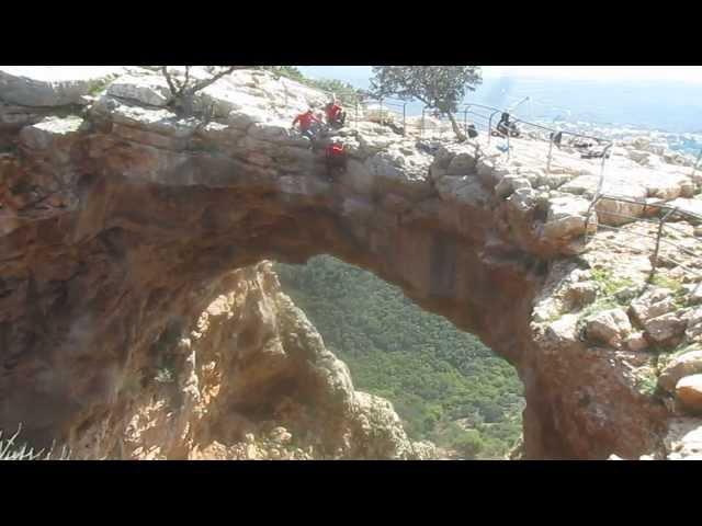 סנפלינג במערת קשת בצפון - ערוצים בטבע