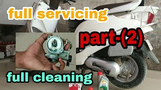 Full servicing of scooty | (part-2) | HONDA AVIATOR | carburator cleaning | MR.AUTOMOBILER