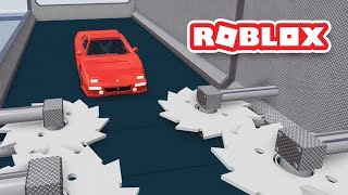 DESTROYING CARS IN ROBLOX