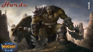 WarCraft III The Frozen Throne Hard - Орда Часть 1 - Рексар, Повелитель Зверей