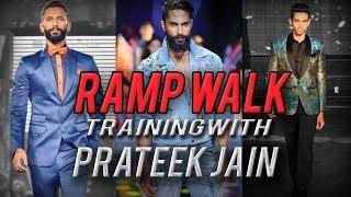 Ramp walk for beginners    Male Model    Mr.India & Mr.Supranational