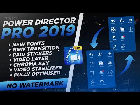 PowerDirector Premium Mod APK|PowerDirector Mod Apk
