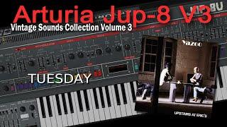 Arturia Jup-8 V Demo Yazoo - Tuesday