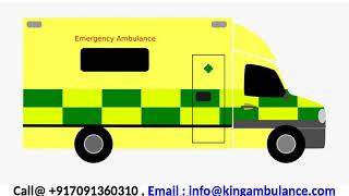 Top-Class King Road Ambulance Service in Patna and Darbhanga with ICU Setup