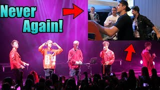 This has never happened.... Why Don't We Concert | Oscar Guerra