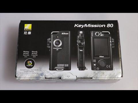 Nikon KeyMission 80 Unboxing
