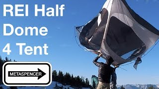 REI Half Dome 4 Person Tent Review