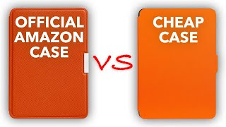 Kindle Paperwhite - Case Comparison