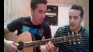 preview picture of video 'Javi y David de inca cantando La Chispa Heroes'