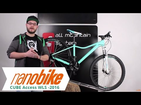 Cube Access WLS Mountainbike / MTB - 2016 Frauen
