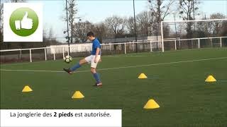 FESTIVAL U13 PITCH 2019 - Défi JONGLE Garçons
