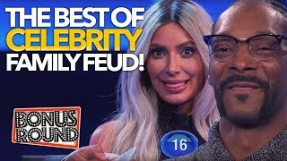 BEST Celebrity Family Feud Moments Snoop Dogg, Kim Kardashian, Amy Schumer & More | Bonus Round - dooclip.me