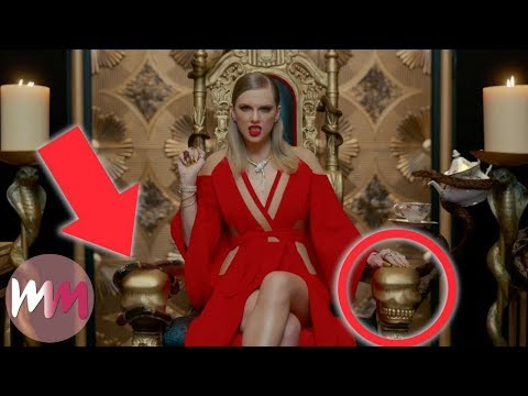 Top 10 References You Missed in Taylor Swift's