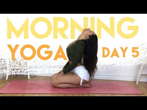 Download 5 Minute Gentle Morning Bed Yoga Video 3GP Mp4 FLV HD Mp3