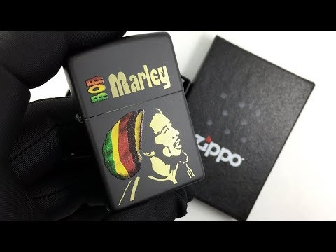 28426 Зажигалка Zippo Bob Marley, Black Matte