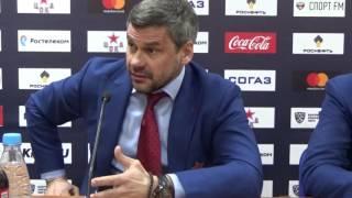 Дмитрий Квартальнов бушует на пресс-конференции из-за травмы Скотта