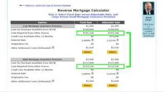 How to use the Kosher Reverse Mortgage Calculator to Purchase a Home