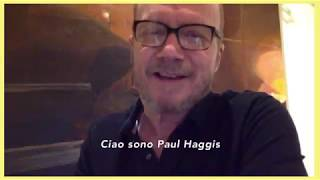 A special video message from Paul Haggis during the Fabrique Awards 2018