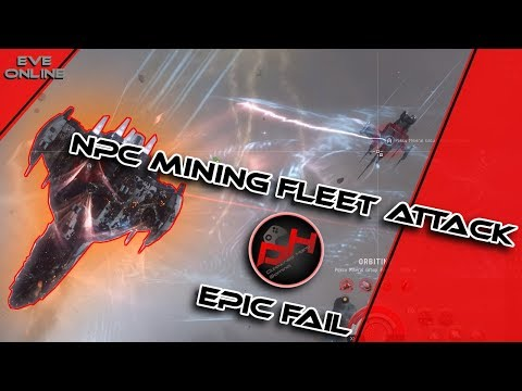 NPC Mining Fleet !!!Fail!!! | EVE Online - Disowned Hero